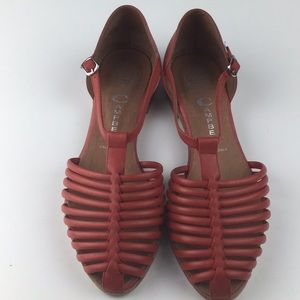 Jeffrey Campbell | Beale Red Sandals