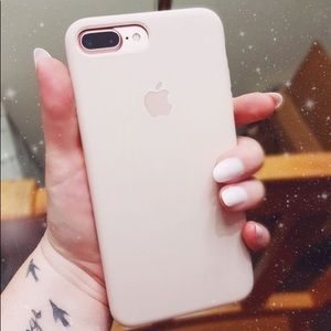 Pink Sand Apple silicone case iPhone 7/8PLUS