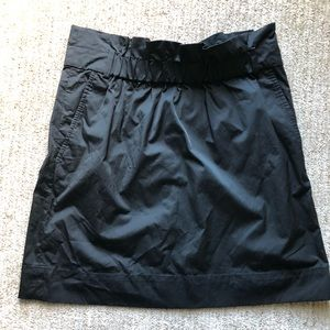 "Banana Republic ""paper bag"" skirt in black"