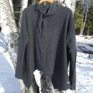 Calvin Klein Gray high low sweatshirt