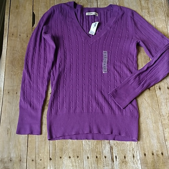 11% off Old Navy Sweaters - Sale! NWT Old Navy Cozy Purple Sweater ...