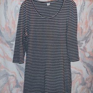 Old Navy Striped Midi Dress