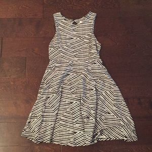 Xhilaration Zebra Print Dress