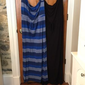 Set of Two Old Navy Strapless Dresses