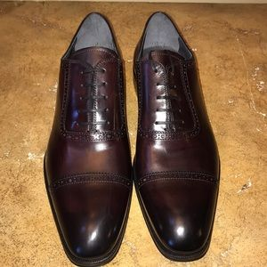 To Boot New York Burgundy Shoes