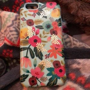 Sonix Floral Teal Phone case fits iPhone 6