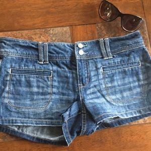 Aeropostale jean shorts 7/8