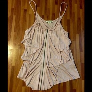 Forever 21 Size:S Blush color Flowy Tank Top