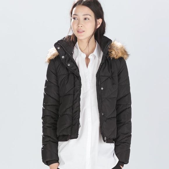 3b18b08b5c0 Zara Jackets & Coats   Trafaluc Outerwear Puffer Quilted Jacket Sz S ...
