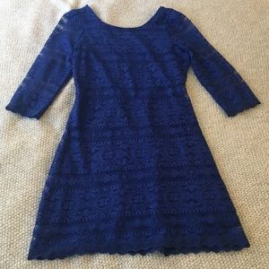 Xhilaration Mini Lace Shift Dress