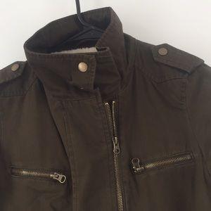 Gap Sherpa Lined Coat