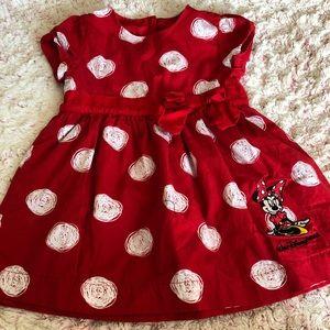 Minnie Mouse dress 18m