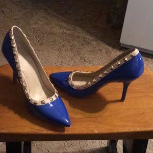Wild Diva Lounge patent leather Stilettos Shoes