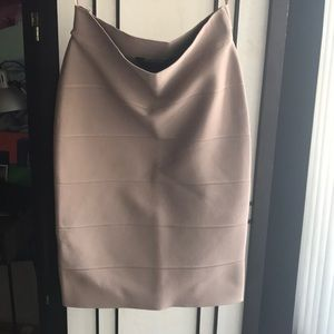 BCBG Alexa body con skirt sz. S
