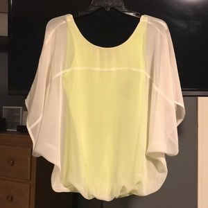 Express - See Through White top with built in tank