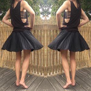 Lush ♣️ black mini skirt