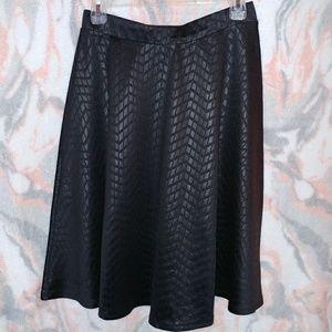 Faith and Joy Faux Leather Skirt