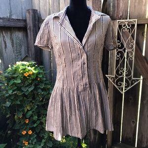 Zara Classic Button-up Dress