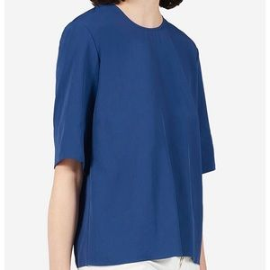 Everlane Japanese Go-Weave back zip Tee