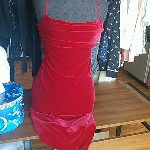 90s Velvet Gown