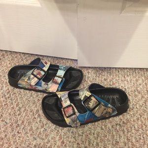 Waterproof Birkis size 36, cruise shoes