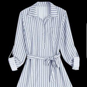NWT Belted Shirtdress