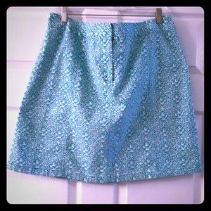 Ann Taylor Geometric Patterned Skirt