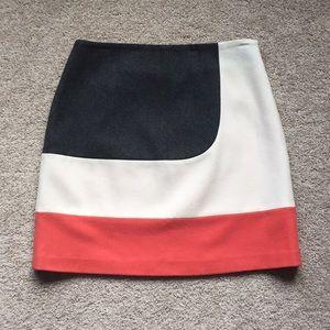 Boden colorblock skirt sz 8