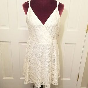 MOSSIMO Lace Skater Dress