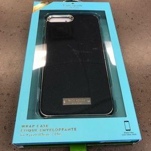 Kate Spade Wrap Case Black Saffiano IPhone 7/8Plus