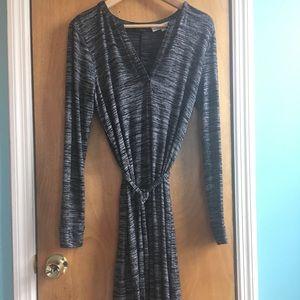 Ann Taylor Loft Gray dress
