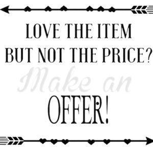 Make me an offer 🖤