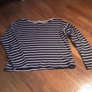 Organic cotton stripped long sleeve!!