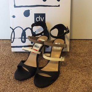 Black and Tan Stiletto heel