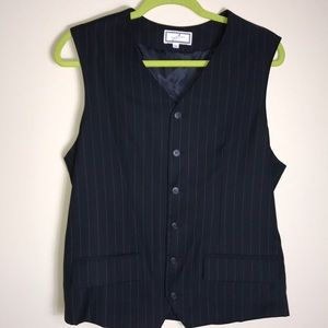 Other - Men's 100% wool fully lined striped vest