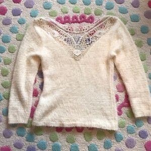 Sweaters - Perfect Holiday Lace Sweater