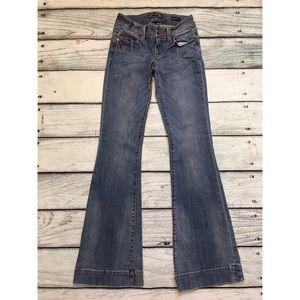 Seven 7 denim jeans sexy flare size 25