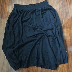 NWT Zara Midi A-Line Skirt