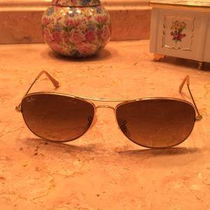 Ray Ban Brown Aviator Sunglasses