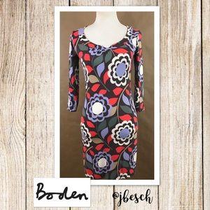 Boden Retro-Look Dress