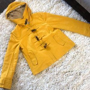 Yellow Banana Republic Coat