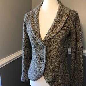CAbi neutral long sleeve sweater jacket style #340