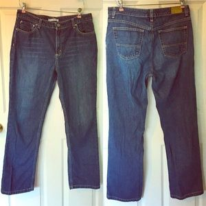 Tommy Hilfiger Classic Fit Blue Jeans Men's 33.5""