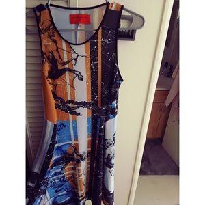Clover Canyon Astrological Zodiac Dress (Small)