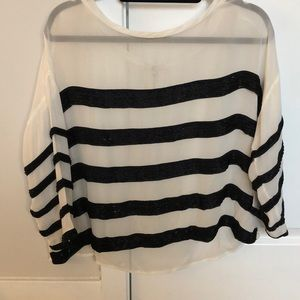 Joie sequenced stripped tunic