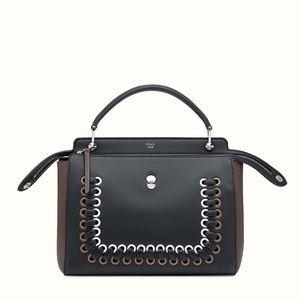 Fendi FW18 Two Tone Shoulder Bag In Stores/Online