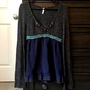 Free People sweater blouse