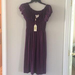 MSSP Purple Dress