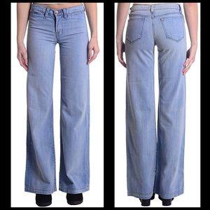 J Brand Jeans 28X34 Malik Wide Leg In Powder!