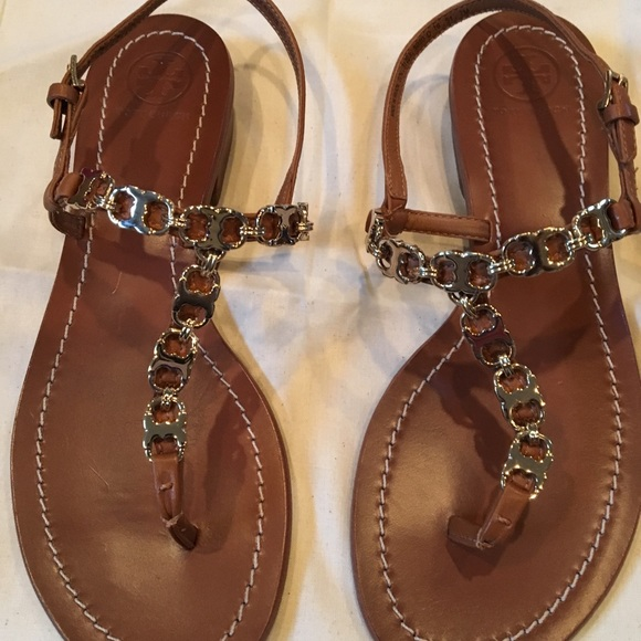 Tory Burch Shoes New Gemini Link T Strap Sandal Poshmark